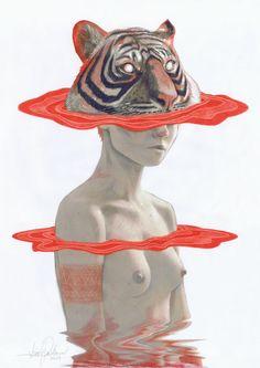 .unknown -tiger-woman