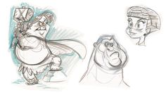 Alan: Life Drawing / Character Design