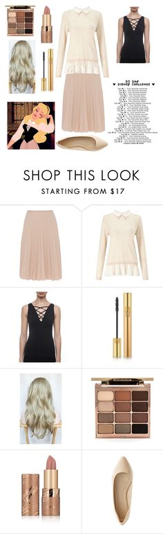 """""""Day two favorite princess"""" by smoorestsweet ❤ liked on Polyvore featuring Disney, Piazza Sempione, Miss Selfridge, seams lovely, Yves Saint Laurent, Stila, tarte and Charlotte Russe"""