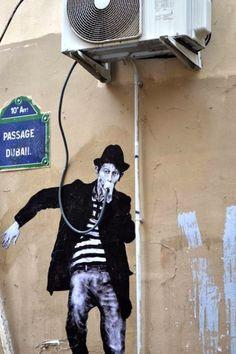 Amazing Levalet Street Art | His, Levalet, Art, Street, Work