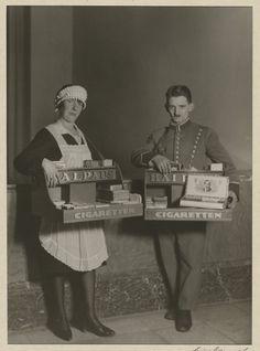 [Untitled] / [Cinema staff]; August Sander (German, 1876 - 1964); 1929; Gelatin silver print; 21.7 x 15.7 cm (8 9/16 x 6 3/16 in.); 84.XM.126.261; Copyright: © J. Paul Getty Trust