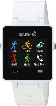 Best Triathlon Watchs: 3. Garmin Vivoactive White Bundle