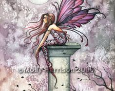 Fairy Fine Art Fantasy Print by Molly Harrison by MollyHarrisonArt