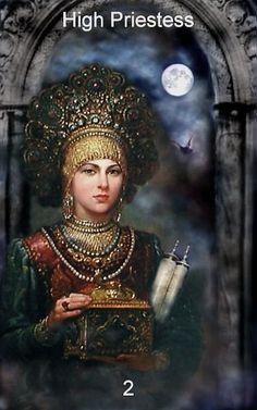 High Priestess, Infinite Visions Tarot