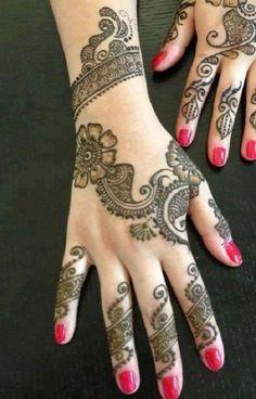 Pakistani Mehndi Designs For Hands Best Ideas Eid. What makes Pakistani henna designs different from other mehndi designs. Hand Tattoos, Henna Tatoos, Mehndi Tattoo, Henna Tattoo Designs, Eid Mehndi Designs, Mehndi Patterns, Simple Mehndi Designs, Hand Mehndi, Mehndi Mano