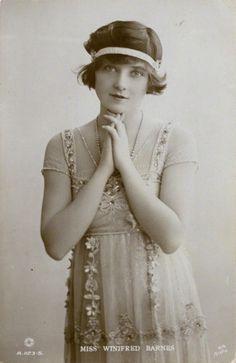 saisonciel:  Winifred Barnes, 1910s