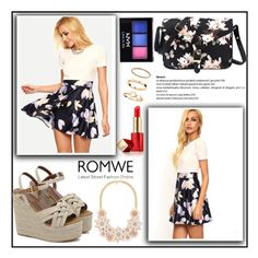 """""""Romwe 3."""" by b-necka ❤ liked on Polyvore featuring NYX, Estée Lauder and romwe"""