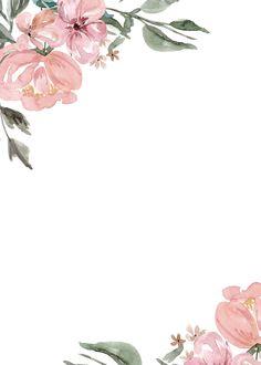 Картинки (разное) - 2 – 3,739 fotos   VK Framed Wallpaper, Flower Background Wallpaper, Flower Backgrounds, Wallpaper Backgrounds, Watercolor Wallpaper, Watercolor Flowers, Floral Watercolor Background, Invitation Background, Invitation Cards