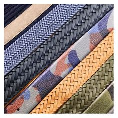 We could make manufacturing a lot easier, but that's not the Anderson's way. We offer an infinite variety suitable for every occasion - from stretch woven to hand-braided, and everything in between, in every colour imaginable. Infinite, Colour, Easy, How To Make, Instagram, Infinity, Infinity Symbol, Color, Colors
