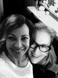 Meryl Streep & Allison Janney ❤ Forever Clarissa & Sally ❤