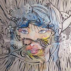 Pigment Ink & watercolor - Inchiostro Sinistro