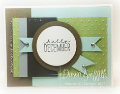 Project Life ~December Wonder stamp set from Stampin'Up!  Love this card . Check out my blog for more details on today's card .