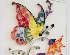 Ideas Quilling, Free Quilling Patterns, Quilling Tutorial, Quilling Paper Craft, Paper Crafts, Quilling Supplies, Quilling Letters, Paper Quilling Cards, Quilled Paper Art