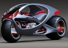 Hyundai Concept Motorcycle: La moto muscular de Hyundai