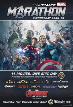 Regal and AMC Theatres Bring Back The Ultimate Marvel Marathon | FirstShowing.net