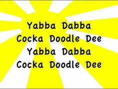 Yabba Dabba - YouTube