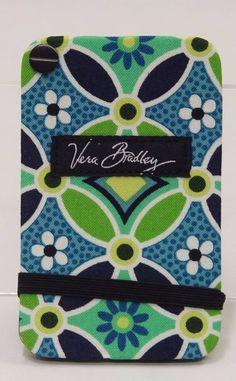 Vera Bradley Card Fan Holder MOD Blue Floral NWT SB0289 #VeraBradley