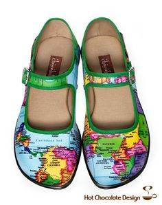 FabAndGorgeous.com, Shoes, Hot Chocolate design