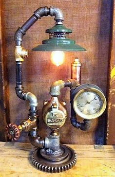 Cool Steampunk Industrial Lamp
