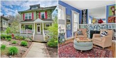 This Victorian Home Is A Rainbow of Happy Hues  - HouseBeautiful.com