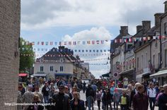 Sainte-Mère-Eglise, a bustling city during the DDay festivities