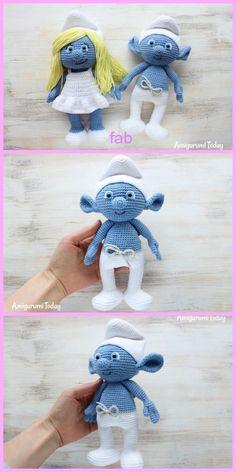 Crochet Amigurumi smurf Free Pattern
