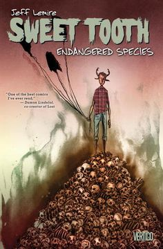 Sweet Tooth, Vol. 4: Endangered Species.  By Jeff Lemire.  Call # 741.597 LEM