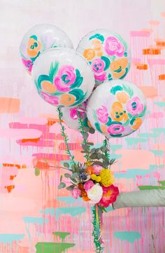 a balloon bouquet for mother's day or a party!