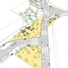 Galeria de 5 propostas de cruzamentos mais seguros para diferentes modais de transporte - 6