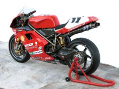 1999 Ducati 996 RS (1999) as ridden by Troy Corser.