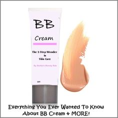 What is bb cream and why are women crazy about it, by Barbies Beauty Bits