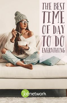 According to science, there are optimal times of day during the day for doing activities. Here are the most efficient times to do everything on your schedule. Does your schedule match with these times? It's time to plan more effectively.
