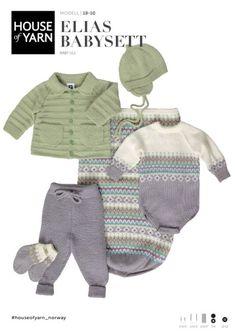 Dale gull & fin retro til baby & kids Knit Baby Dress, Baby Cardigan, Baby Knitting Patterns, Free Knitting, Crochet Baby, Knit Crochet, Baby Barn, Other Outfits, Designer Baby