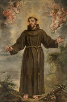 """""""Anger and perturbation in oneself or others impedes love."""" Rule of Saint Francis // Saint Francis of Assisi / San Francisco de Asís // 17th century // Philip Fruytiers // © KMSKA"""
