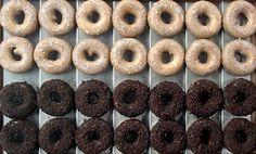 http://www.doughnutplant.com/  Creme Brulee, blackout, coconut cream & tres leches doughnuts                                                                        Doughnut Planet 379 Grand Street