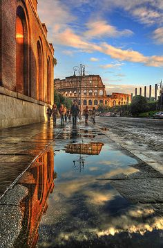 Colosseum Reflections, Rome, Italy