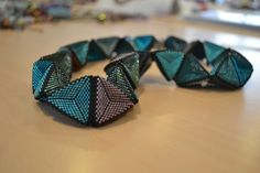 Triangles necklace by Susanne Sturm - image copyright © Jean Power
