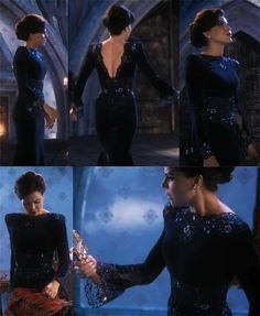 once upon a time regina's blue dress - Google Search