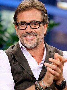 Jeffery Dean Morgan even with glasses, he's sexy as hell.