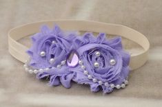 Purple Sofia the First Princess, Flower Headband, Princess Headband, Sofia Headband, Headband, Sofia, Toddler Headband, Girl Headband on Etsy, $7.95