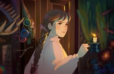 Studio Ghibli Art, Studio Ghibli Movies, Anime Manga, Anime Art, Howl And Sophie, Howls Moving Castle, Hayao Miyazaki, Princesas Disney, Animation Film