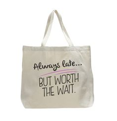 New trendy canvas tote bags, large in size and perfect in many uses. Beach bag, shopping, grocery bag, gym, sleep overs, book bag, diaper bag, traveling, and much more.í«ÌÎ_ Made in the USA, ships wit