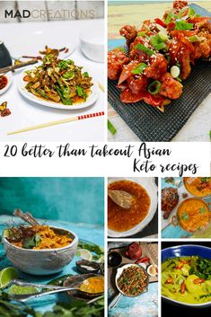 Better than Takeout Asian Keto Recipes - Mad Creations Hub Low Carb Lunch, Low Carb Dinner Recipes, Keto Dinner, Lunch Recipes, Banting Recipes, Savoury Recipes, Protein Recipes, Ketogenic Recipes, Ketogenic Diet