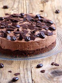 Chocolate cheesecake {no baking and no gelatin} - Garrard Sewter Pumpkin Pecan Cheesecake, Keto Cheesecake, Chocolate Cheesecake, Chocolate Desserts, Cake Chocolate, Fall Dessert Recipes, Just Desserts, Raspberry Recipes, Gelatine