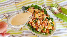 Karnabaharlı Nohut Salatası nasıl yapılır? Bir Dilim Lezzet farkıyla denenmiş, resimli ve güvenerek yapabileceğiniz Karnabaharlı Nohut Salatası malzemelerine ve tarifine göz atın...