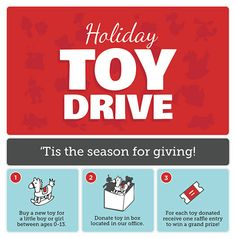 Crush Cancer has a holiday toy drive planned Work Christmas Party Ideas, Christmas Flyer, Office Christmas, Kids Christmas, Corporate Holiday Cards, Toys For Tots, Food Drive, Pediatric Dentist, Family Dentistry