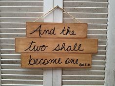 Rustic+Stained+Wood+Wedding+Scripture+Sign+by+SassySouthernCharm,+$15.00