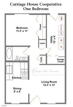 Image Result For 500 Square Foot Ranch Floor Plan Simple Basic 1 Bedroom House Plans One Bedroom House One Bedroom House Plans