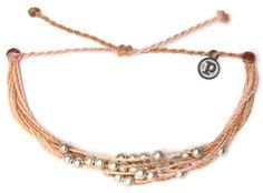 Platinum Cream   Pura Vida Bracelets