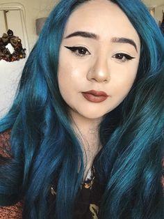 """""""That's why her hair so big, it's full off secrets"""" Green Hair, Purple Hair, Blue Green, Hair Inspo, Hair Inspiration, Arctic Fox Hair Color, Wild Hair, Mermaid Hair, Rainbow Hair"""
